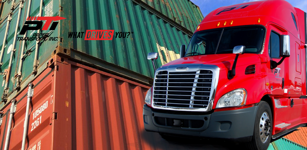 Florida Intermodal Trucking by PTI - Banner